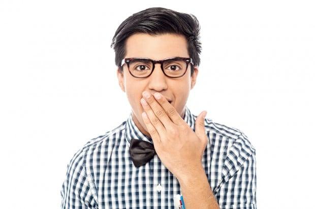 Junger Mann mit schwarzer Brille | © Bildagentur PantherMedia / Ishay Botbol